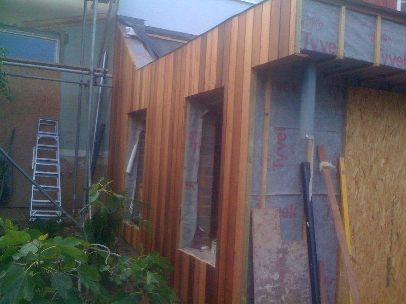 Teignmouth Cedar Extension Building Devon